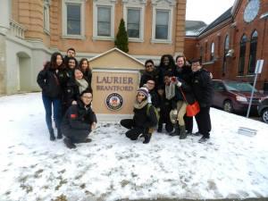 laurier Brantford, trip